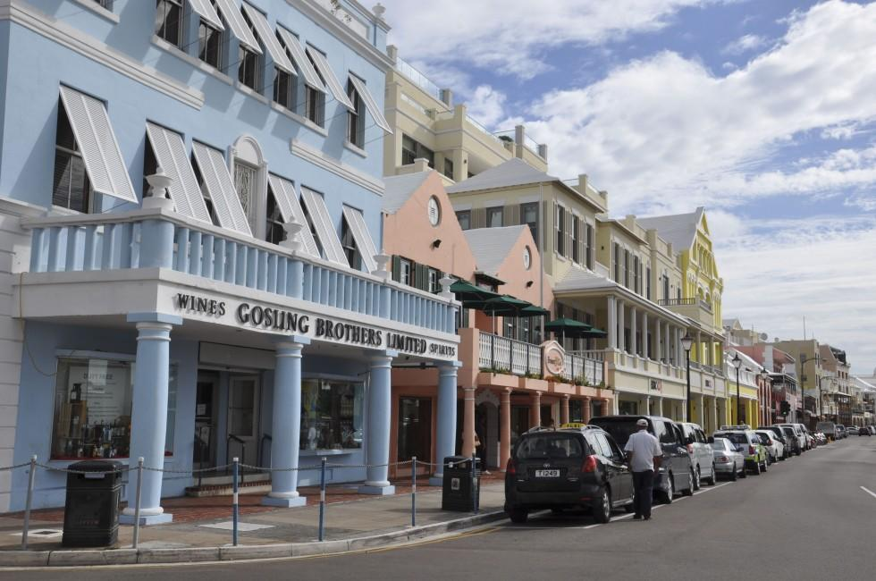 Downtown Hamilton, Bermuda
