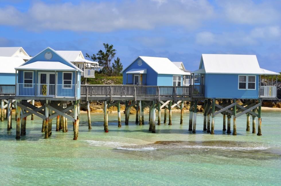 Stilt Houses, Bermuda, Caribbean