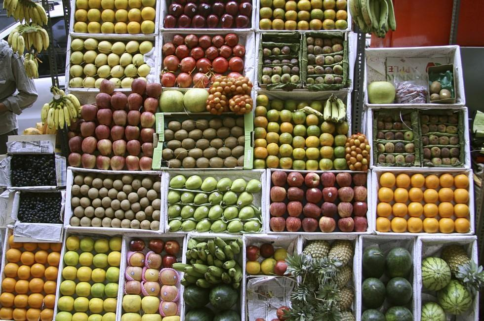 Fruit Stall, Mumbai, India