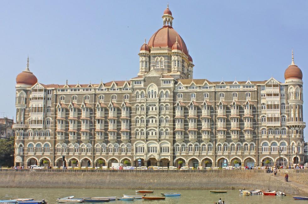 Taj Mahal Palace Hotel, Bombay, India