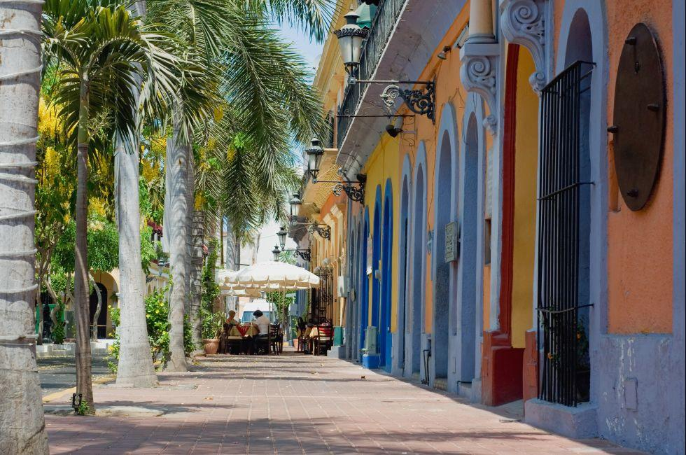 Sidewalk, Mazatlan, Mexico
