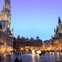 Dusk, Grande Place, Grote Markt, Brussels, Belgium