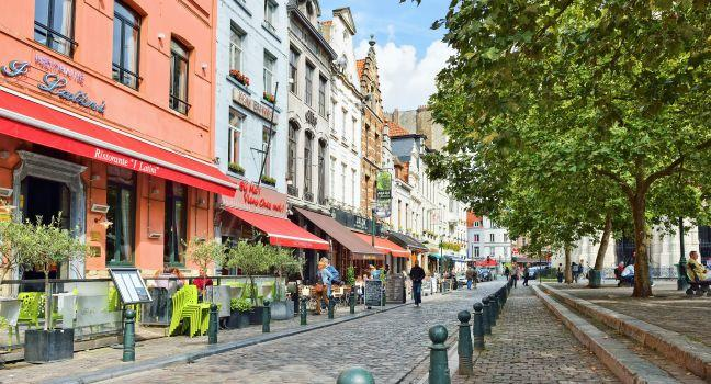 Place Saint Catherine, Brussels, Belgium