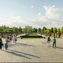 Herastrau Park, Bucharest, Romania