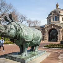 Statue, The Bronx Zoo, The Bronx, New York City, New York, USA