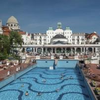 Swimming Pool, Gellert Thermal Baths, Hotel Gellert, Budapest, Hungary