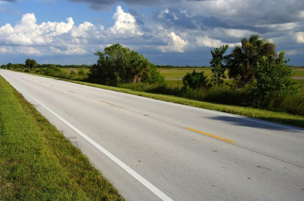 The Scenic and Historic Tamiami Trail, Big Cypress National Preserve, The Everglades, Florida