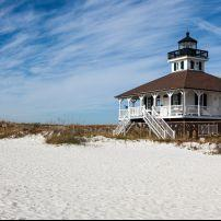 Lighthouse, Beach, Boca Grande, The Lower Gulf Coast, Florida, USA