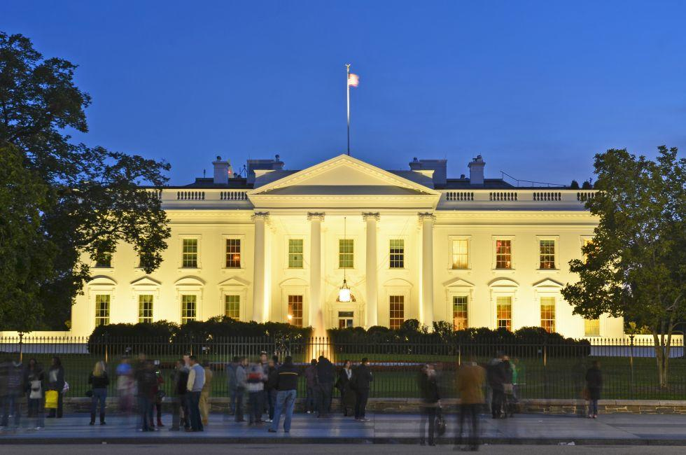 The White House, The White House Area and Foggy Bottom, Washington, D.C., USA