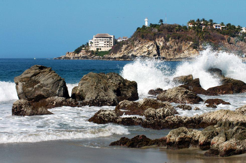 Bay, Puerto Escondido, Mexico