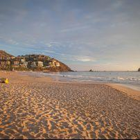 Beach, Coastline, Sunset, Ixtapa, Mexico