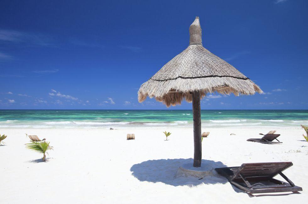 Beach, Tulum, Mexico