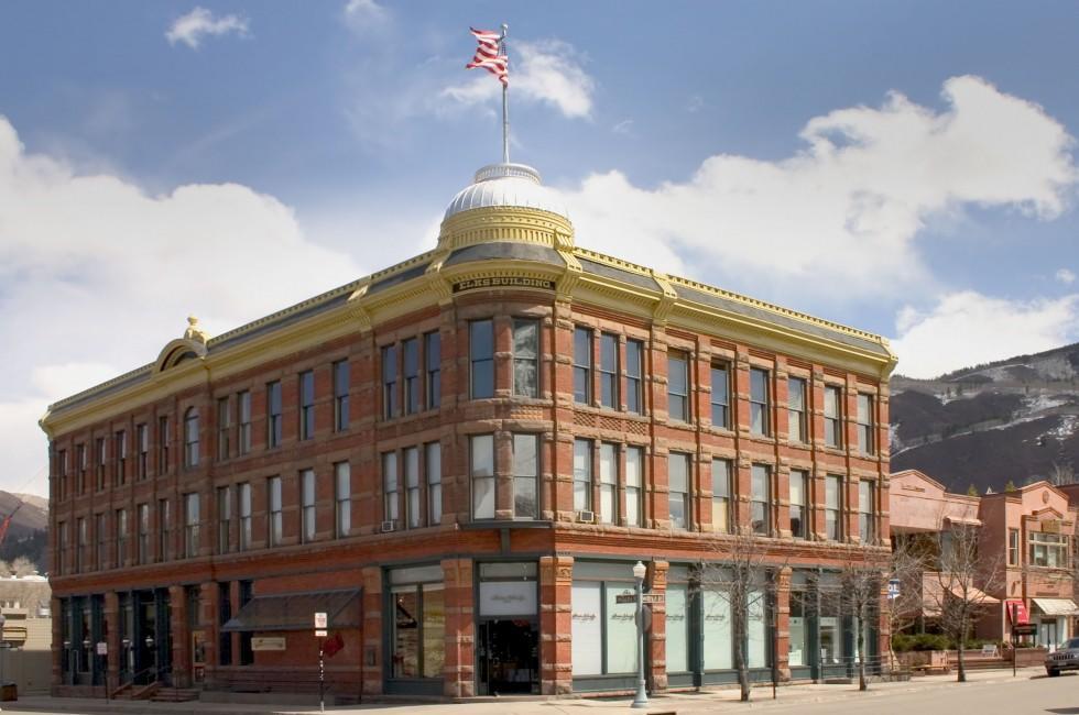 Elks Building, Aspen, Colorado, USA