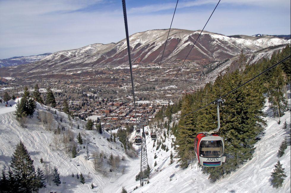 Gondola, Aspen, Colorado