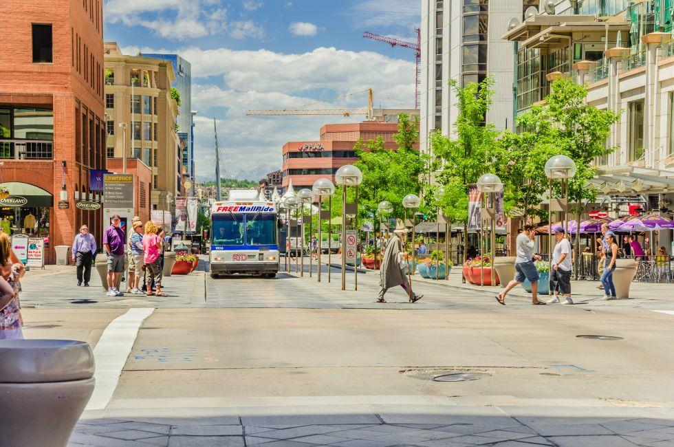16th Street Pedestrial Mall, Downtown, Denver, Colorado
