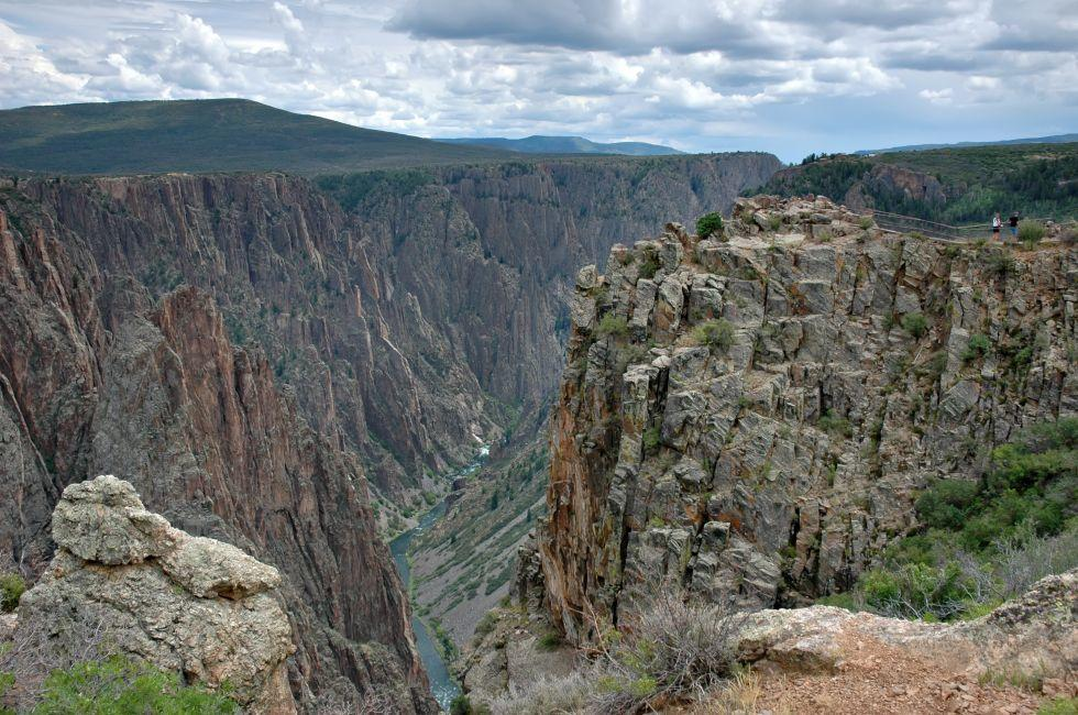 Black Canyon, Black Canyon of the Gunnison National Park, Colorado, USA