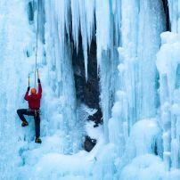 Ouray Ice Park, Ouray, Colorado