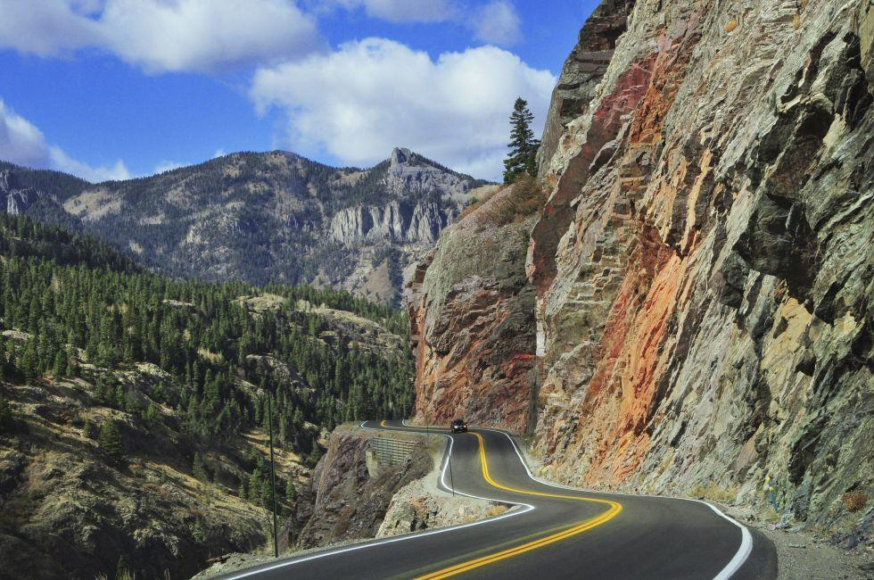 Road, Ouray, Colorado