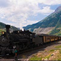 Durango-Silverton Steam Locomotive, Silverton, Colorado