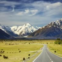 Mountains, Landscape, The Southern Alps and Fiordland, New Zealand