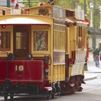 Streetcar, Tram, Transit, Christchurch, New Zealand