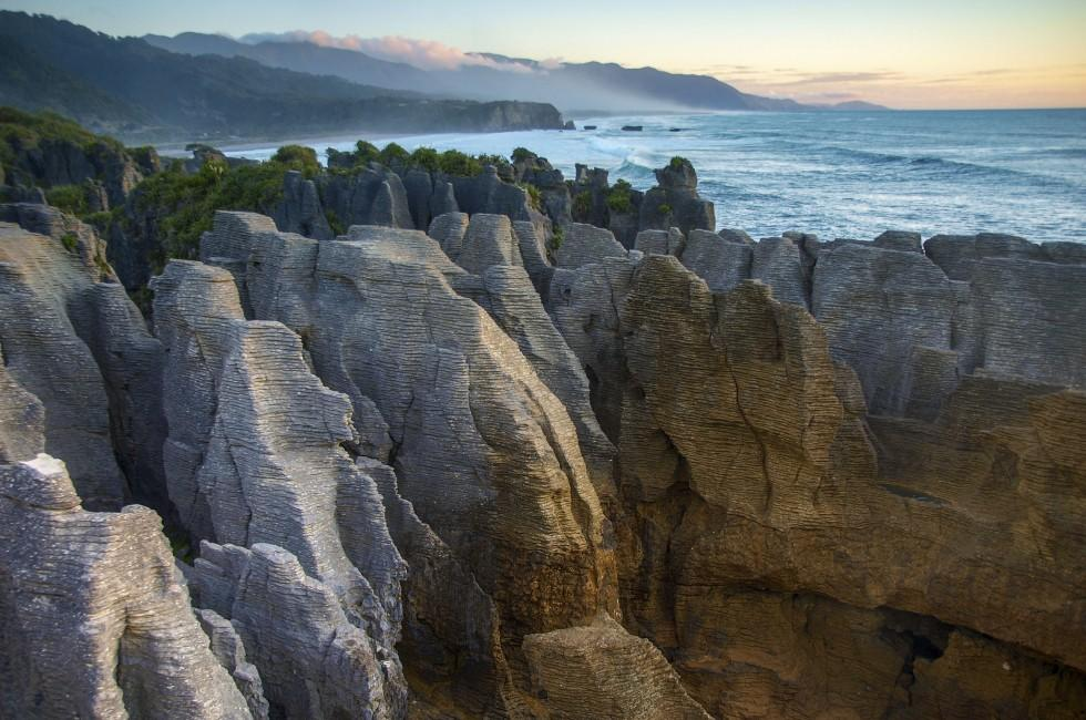 Pancake Rocks, Punakaiki, West Coast, South Island, New Zealand