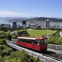 Cityscape, Streetcar, Wellington and the Wairarapa, New Zealand