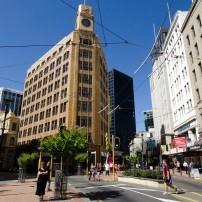 Downtown, Wellington and the Wairarapa, New Zealand