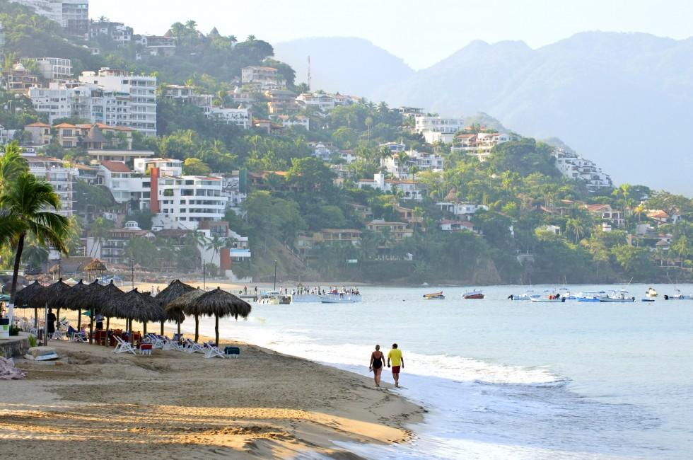 Beach, Couple, Puerto Vallarta, Mexico