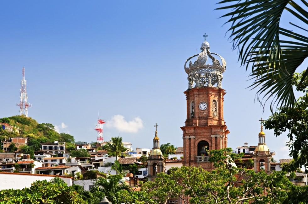 Church, Our Lady of Guadalupe, Puerto Vallarta, Mexico