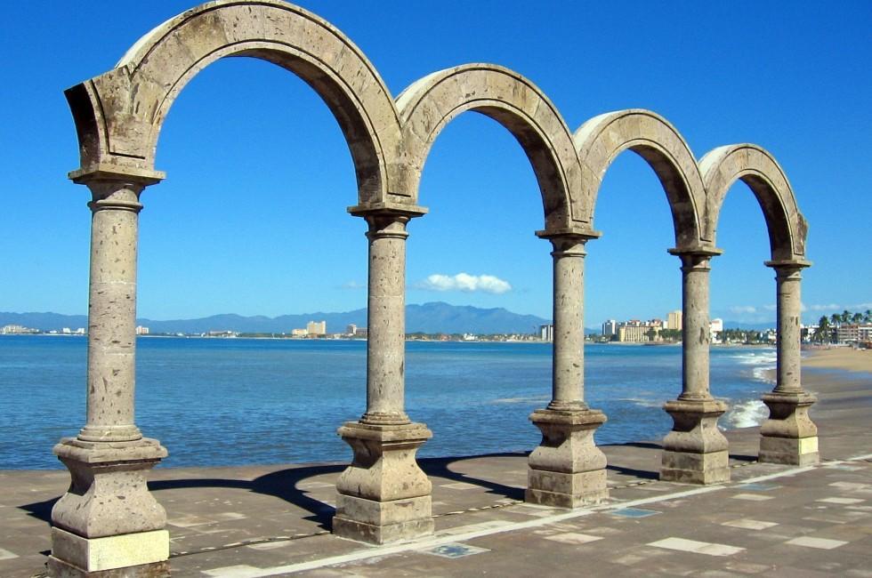 Los Arcos, Coastline, Puerto Vallarta, Mexico