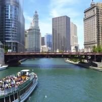 Chicago River, Chicago, Illinois, USA