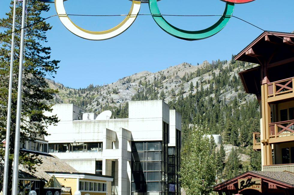 Olympic Village, Squaw Valley Ski Resort, Lake Tahoe, California