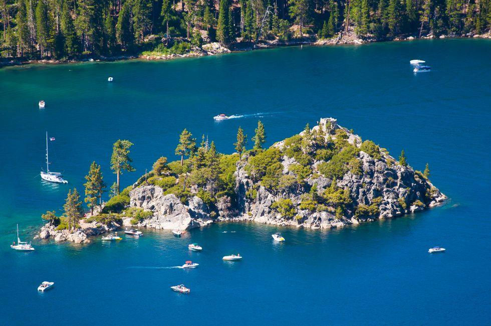 Fannette Island, Emeraldn Bay, South Lake Tahoe, California