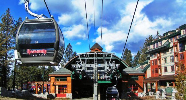 Gondolas, Lake Tahoe, California