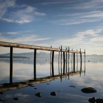 Pier, Lake Tahoe, Tahoe City, California