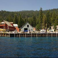 Buildings, Boats, Tahoma, Lake Tahoe, California