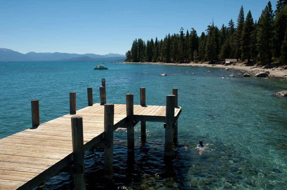 Pier, Sugar Pine Point State Park, Lake Tahoe
