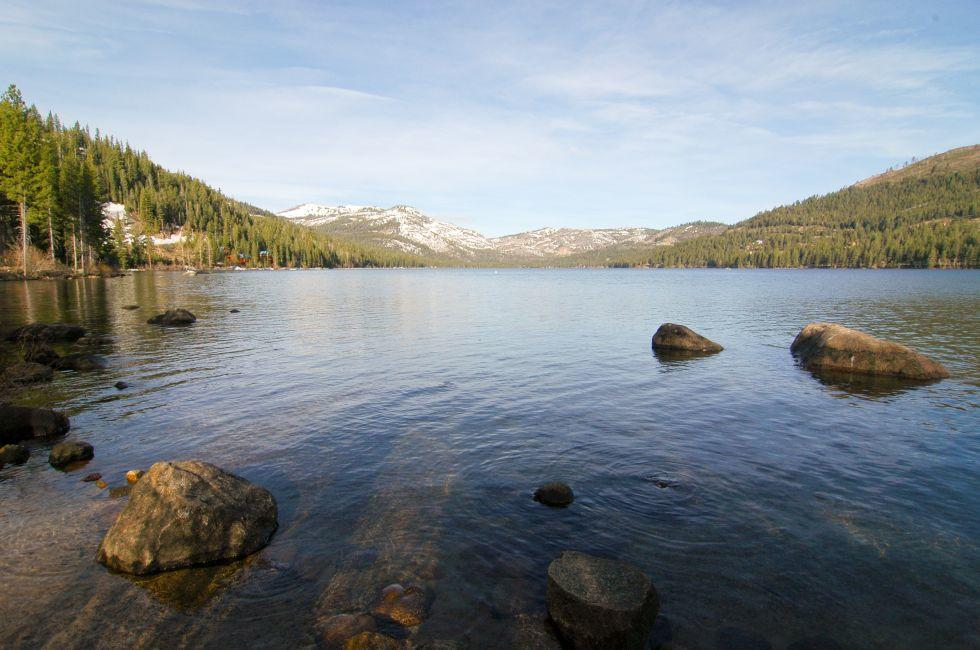 Lake, Donner Memorial Sate Park, Truckee, California