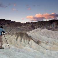 Photographer, Sunrise, Landscape, Death Valley National Park, California, USA