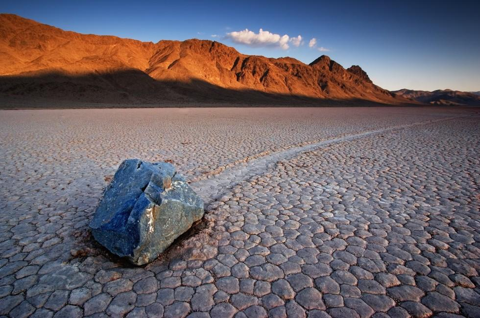 Rock, Desert, Death Valley National Park, California, USA