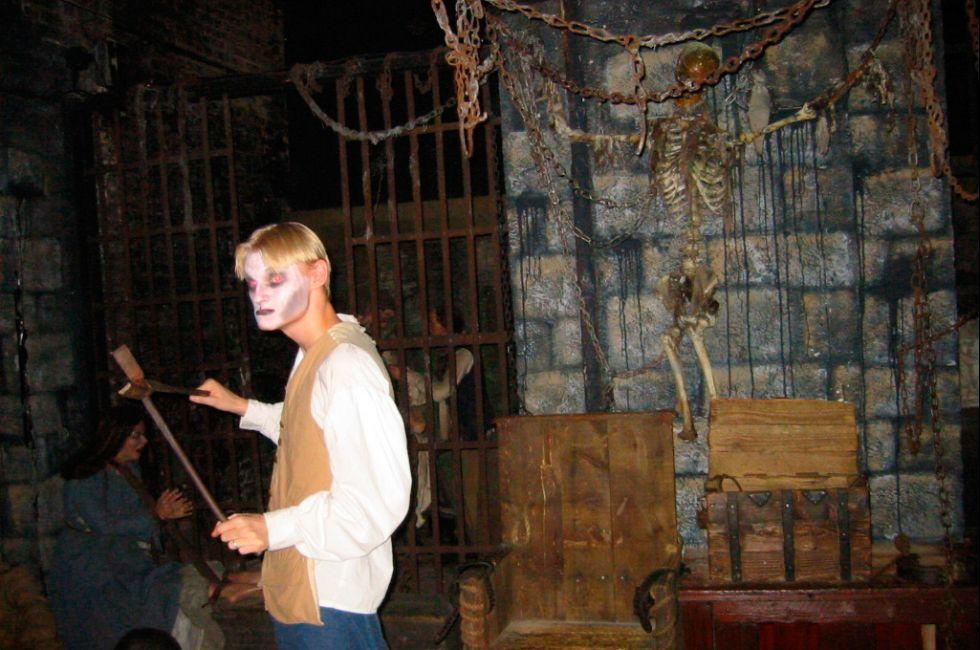 London Dungeon, South Bank, London, England.