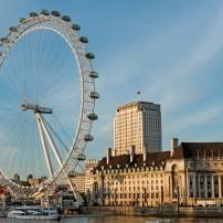 London Eye, The South Bank, London, England
