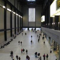 Tate Modern, South of the Thames, London, England.