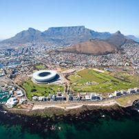 Aerial, Cape Town, South Africa, Africa