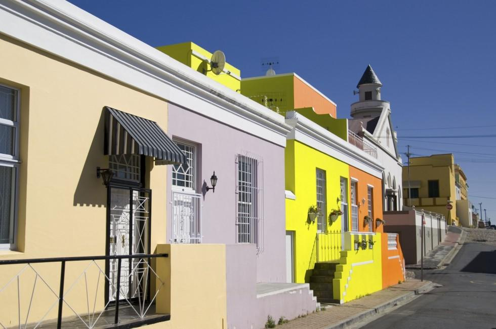 Houses, Bo Kaap, Cape Town, South Africa