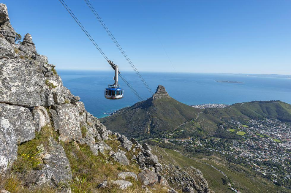 Table Mountain Aerial Cableway, Table Mountain, Cape Town, South Africa
