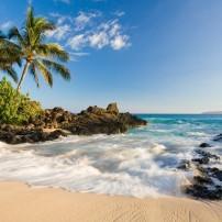 Beach, Makena Cove, South Shore Maui, Maui, Hawaii, USA