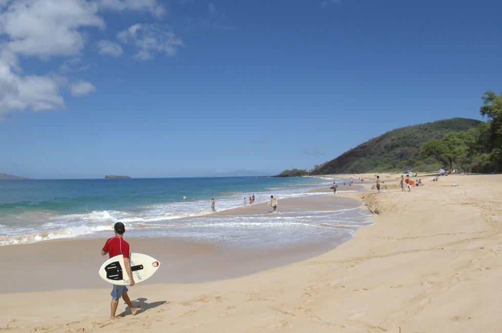 Beach, Maui, Hawaii, USA