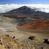 Haleakala Crater, Haleakala National Park, Maui, Hawaii, USA